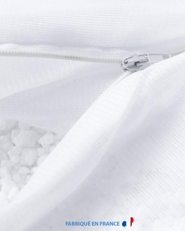 Housse interne pouf poire, remplie de billes de polystyrène